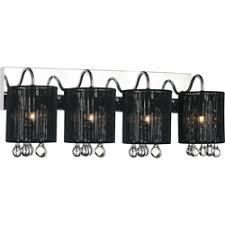 black vanity lighting.  black 24 and black vanity lighting t