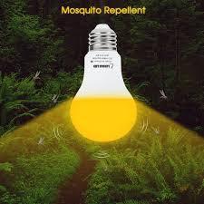 Yellow Lights And Bugs Details About Lohas Amber Light Sensor Dusk To Dawn Led Bulbs Bug Light Bulb Yellow Led A19