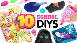 5-Minute DIY Ideas, Life Hacks for Back To School!