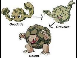 Pokemon Geodude Evolution Chart