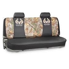 camo seat cover kit bench realtree xtra