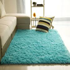 Carpet Rug Fluffy Color
