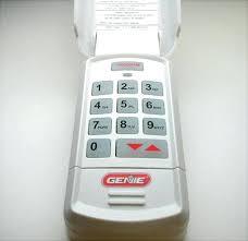 genie garage door opener keypad programming chamberlain fingerprint entry garage door opener genie pro max garage