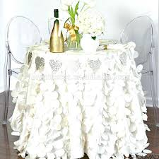 90 inch round tablecloth decorative table cloths white petal cloth for wedding banquet party supplier tablecloths 90 inch round tablecloth