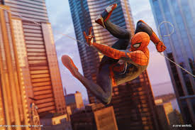 to get it out of the way before we dive in after an extended demo of the first hour of insomniac s upcoming spider man game for ps4 yes the swinging is