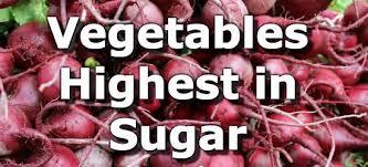 Vegetable Conversion Chart Top 15 Vegetables Highest In Sugar