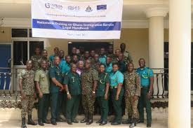 immigration service launch training for immigration trainers and immigration officials during the training in tamale northern region photo iom