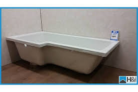 square shower bath lh 1700 x 850mm with leg fitting kit appraisal good serial no na location y