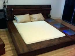 Solid Wood Platform Bed Frame Queen Solid Wood Platform Bed Queen ...