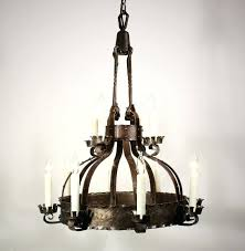 chandeliers two tier chandelier sold large antique twelve light two tier chandelier iron early 3