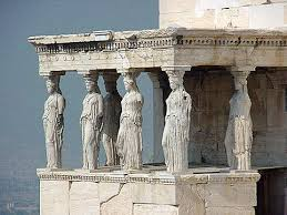 acropolis  architecture and columns on pinterestthe porch of maidens is an example of classical greek architecture  it was constructed between