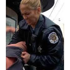 women police angel eyes sharon pogue leather jacket