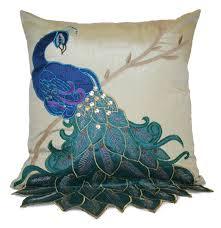 Colorful Peacock Throw Pillows: Unique Peacock Designs