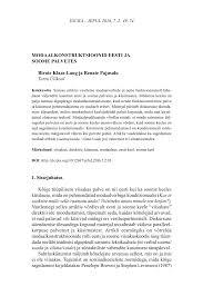 pdf modal verbs in balto finnic