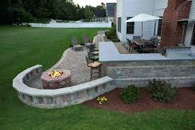 outdoor stone fireplace grill plans free field