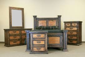 images of rustic furniture. Finca Copper Rustic Bedroom Set Images Of Furniture