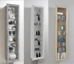 Image Design Image Is Loading Borawallmountedglassampwooddisplaycabinet Home Interiorjust Another Wordpress Site Bora Wall Mounted Glass Wood Display Cabinet Shelving Ebay
