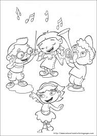 Small Picture Little Einsteins Coloring Pages Educational Fun Kids Coloring