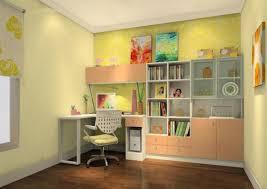 children study room design color rendering children study room design