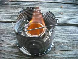 alcohol stove best camping stove