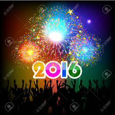 happy new year 2016 with fireworks. Brilliant New Happy New Year 2016 With Fireworks Background Stock Vector  34811077 For With Fireworks W