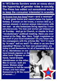 excerpt from bernie sanders 1972 essay ur excerpt from bernie sanders 1972 essay