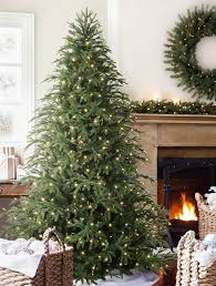 Glamorous Pre Lit Christmas Trees In Landscape Traditional With Blue Spruce Pre Lit Christmas Tree