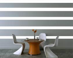 stripe wall pattern art stickers