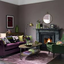 green living room ideas regal purple