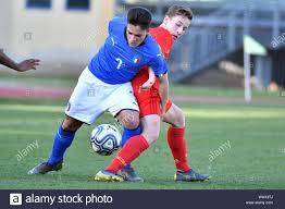 Giacomo Raspadori during ITALIA U19 VS BELGIO U19, Padova, Italy, 20 Mar  2019, Calcio Nazionale Italiana di Calcio Stock Photo - Alamy