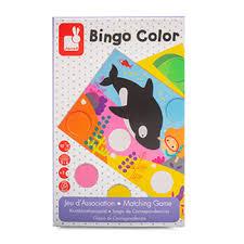 <b>Игра настольная лото</b> «Бинго», Janod, 15.8х25х4 см, Китай ...