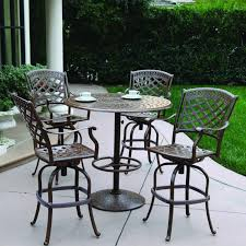 darlee sedona 5 piece patio bar set