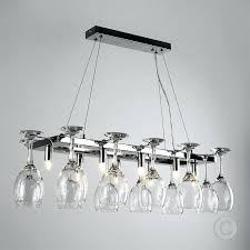 mesmerizing wine glass chandelier wine glass chandelier breakfast bar kitchen dining ceiling light fitting chrome diy