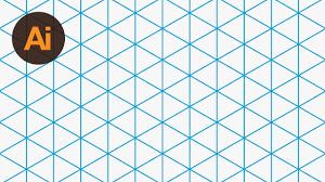 Design An Isometric Grid Illustrator Tutorial Youtube