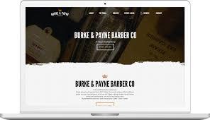 Barber Shop Website Anthem Web Design Philadelphia Philla Barber Co