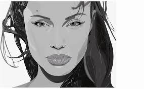 Angelina Jolie Vector Art Lindsayleighs Weblog