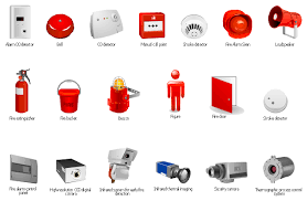 smoke alarm equipment layout floor plan fire and emergency plans fire alarm layout drawing at Fire Alarm Layout Diagram