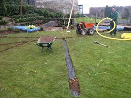 garden drainage. Garden Drainage