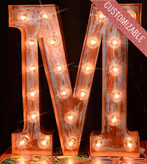 Nashville Sign Decor Custom Metal Letter Marquee Sign Home Decor Lighting Top 62
