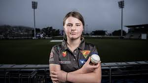 Amy Smith second youngest Tasmanian to earn cricket contract   The Mercury