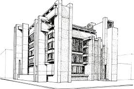 architectural drawings of buildings. Contemporary Buildings Architect Drawing Modern Architecture Residential Building Stock  In Architectural Drawings Of Buildings E