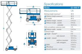 scissor lift specification scissor lift large image for scissor lift specification 145 upright mx19 scissor lift spec specifications