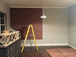 How to apply Faux Brick Panel