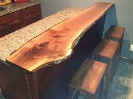 Wood Bar Top Best 25 Live Edge Bar Ideas On Pinterest Live Edge Wood