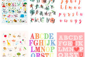free printable alphabet. Plain Printable Fun And Free Alphabet Printables For Your Nursery 19 Free ABC Posters  You To Throughout Printable Alphabet L