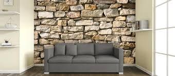 dry stone white brick wallpaper