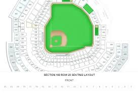 Detailed Seating Chart Busch Stadium 48 Up To Date Cardinals Stadium Seating