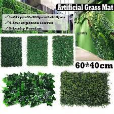 artificial ivy leaf hedge mat fence
