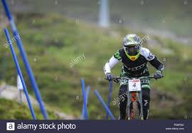Meall A Bhuiridh, Glencoe, Scotland, 22nd July 2018. Adam Brayton, Hope  Factory Racing in action at the HSBC UK National Downhill Championships  2018 a Stock Photo - Alamy