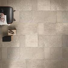 Rustic Floor Tiles Color
